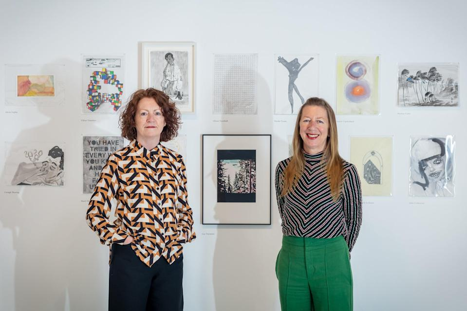 Mary Doyle and Kate Macfarlane of the Drawing Room