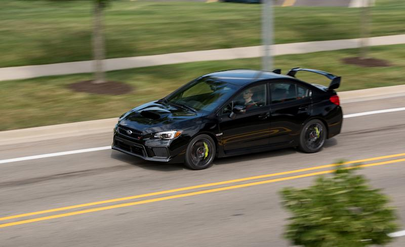 2018 subaru wrx sti black. perfect wrx the subaru wrx sti is kind of like that extremely smart kid who brings home  report cards with cs and ds littering the page unchallenged he or she gets  for 2018 subaru wrx sti black d