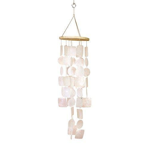"""<h3><strong>Seashell Wind Chime</strong></h3><br>A #1 Best Seller in Amazon's, """"Wind,"""" department — this delicate and ethereal chime will make tranquil music for your mom.<br><br>Rating: 4.4 out of 5 stars, and 1,027 reviews<br><br>A Satisfied Customer Review: """"Gorgeous wind chimes that make a lovely harmonious sound as the wind blows against it. If we were allowed to upload a short clip you would see how beautiful it sounds...complete tranquility!""""<br><br><strong>Bellaa</strong> White Capiz Shell Wind Chime, $, available at <a href=""""https://www.amazon.com/Bellaa-22913-Amazing-Grace-Beautiful/dp/B0141S0J20/ref=sr_1_5"""" rel=""""nofollow noopener"""" target=""""_blank"""" data-ylk=""""slk:Amazon"""" class=""""link rapid-noclick-resp"""">Amazon</a>"""