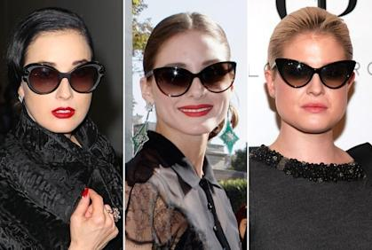 Old-school sunglasses are back in vogue.