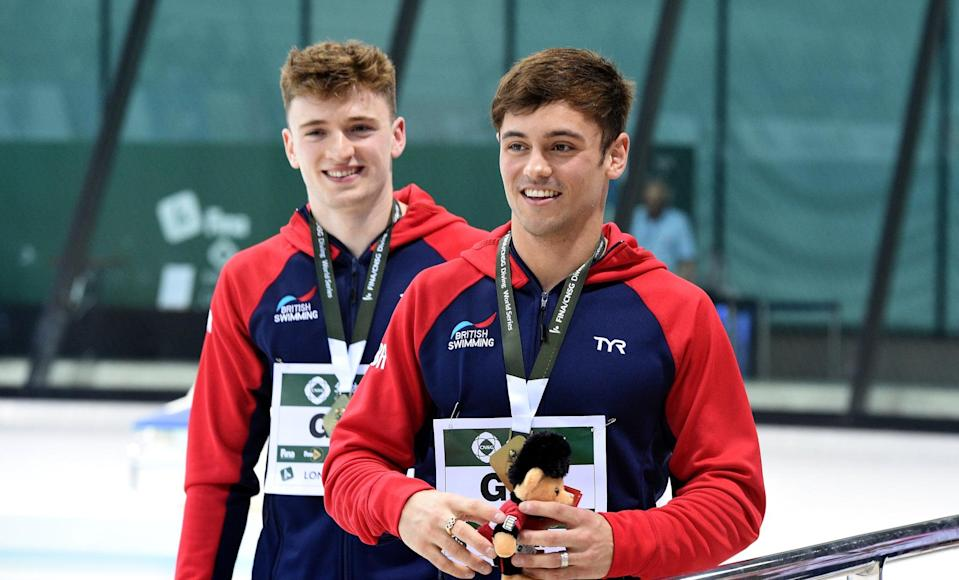 """<p>A year after winning a bronze medal at the 2012 Olympics, British diver Tom Daley took to YouTube to share that <a href=""""https://www.youtube.com/watch?v=OJwJnoB9EKw"""" class=""""link rapid-noclick-resp"""" rel=""""nofollow noopener"""" target=""""_blank"""" data-ylk=""""slk:he was dating a man"""">he was dating a man</a>. """"I didn't want my words to get twisted. I wanted to put an end to all the rumors, the speculation, and just say it,"""" he told viewers at the time. In the past, Daley has <a href=""""https://www.thetimes.co.uk/article/tom-daley-whos-the-daddy-lance-and-i-dont-know-ourselves-5ksxjw6kq"""" class=""""link rapid-noclick-resp"""" rel=""""nofollow noopener"""" target=""""_blank"""" data-ylk=""""slk:rejected putting a label on his sexuality"""">rejected putting a label on his sexuality</a>, telling <strong>The Times</strong> in 2015, """"My generation shouldn't feel the need to be labelled; we are too obsessed by gender. I am not 100 percent straight, I'm not 100 percent gay, I'm just queer. My generation, I think, are more fluid."""" </p> <p>Daley has spoken out about <a href=""""https://twitter.com/TomDaley1994/status/984647601277431808?ref_src=twsrc%5Etfw%7Ctwcamp%5Etweetembed%7Ctwterm%5E984647601277431808&amp;ref_url=https%3A%2F%2Fedition.cnn.com%2F2018%2F04%2F13%2Fsport%2Ftom-daley-commonwealth-games-decriminalize-homosexuality-spt%2Findex.html"""" class=""""link rapid-noclick-resp"""" rel=""""nofollow noopener"""" target=""""_blank"""" data-ylk=""""slk:anti-LGBTQ+ laws"""">anti-LGBTQ+ laws</a> as well. After winning gold in the 2018 Commonwealth Games, the diver tweeted, """"37 of the competing nations criminalise being LGBT+. I feel so lucky to be able to be openly who I am without worry. I hope one day every athlete from every nation in the commonwealth will be free to compete openly as who they are too!""""</p>"""