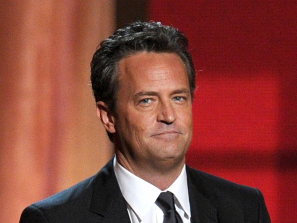 Kate Haralson originally matched with Matthew Perry on elite dating app RayaGetty Images
