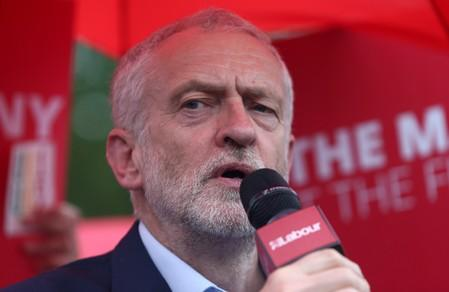 New UK PM must put Brexit plan to second referendum: Labour's Corbyn