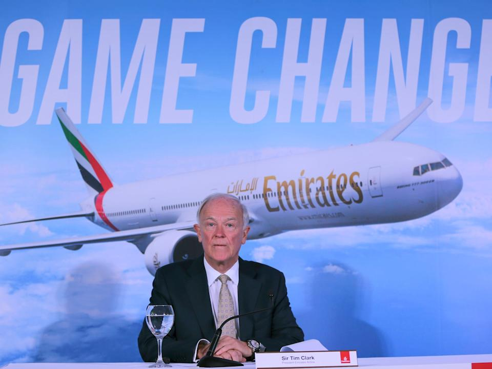Emirates Tim Clark