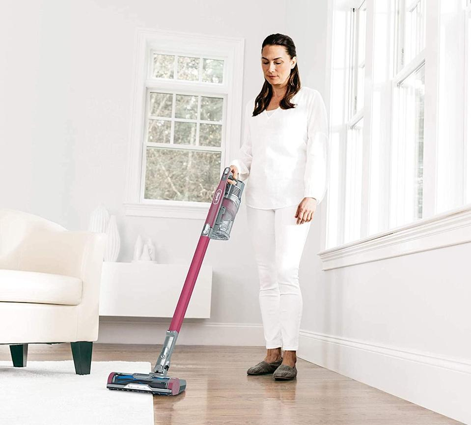 "<br><br><strong>Shark</strong> Cordless Anti-Allergen Lightweight Stick Vacuum, $, available at <a href=""https://amzn.to/2ViCPUL"" rel=""nofollow noopener"" target=""_blank"" data-ylk=""slk:Amazon"" class=""link rapid-noclick-resp"">Amazon</a>"