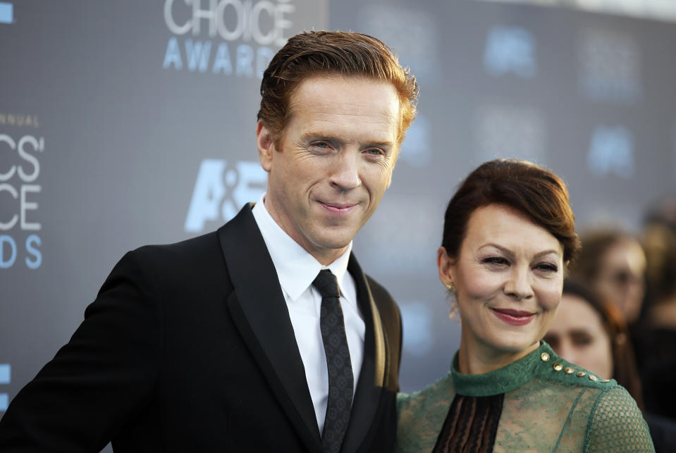 Damian Lewis announced his wife Helen McCrory's death on April 16. (Photo: REUTERS/Danny Moloshok)