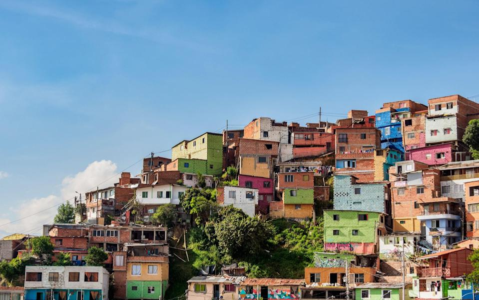 Colombia's reinvention has been staggering - getty