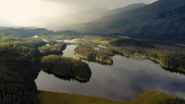 The Muskwa-Kechika wilderness at Gata-gh'a (Mayfield Lake).  (Photo by Eastcherry Media - image credit)