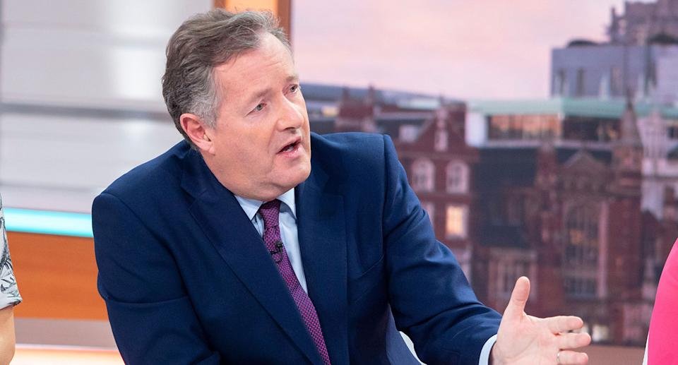 Piers Morgan quit as co-host of ITV's Good Morning Britain on Tuesday. (ITV)