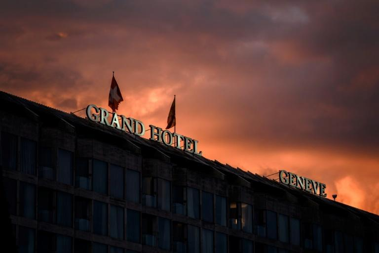 The rate of hotel occupancy in Geneva is at a level last seen in 1954, when there were half as many hotels