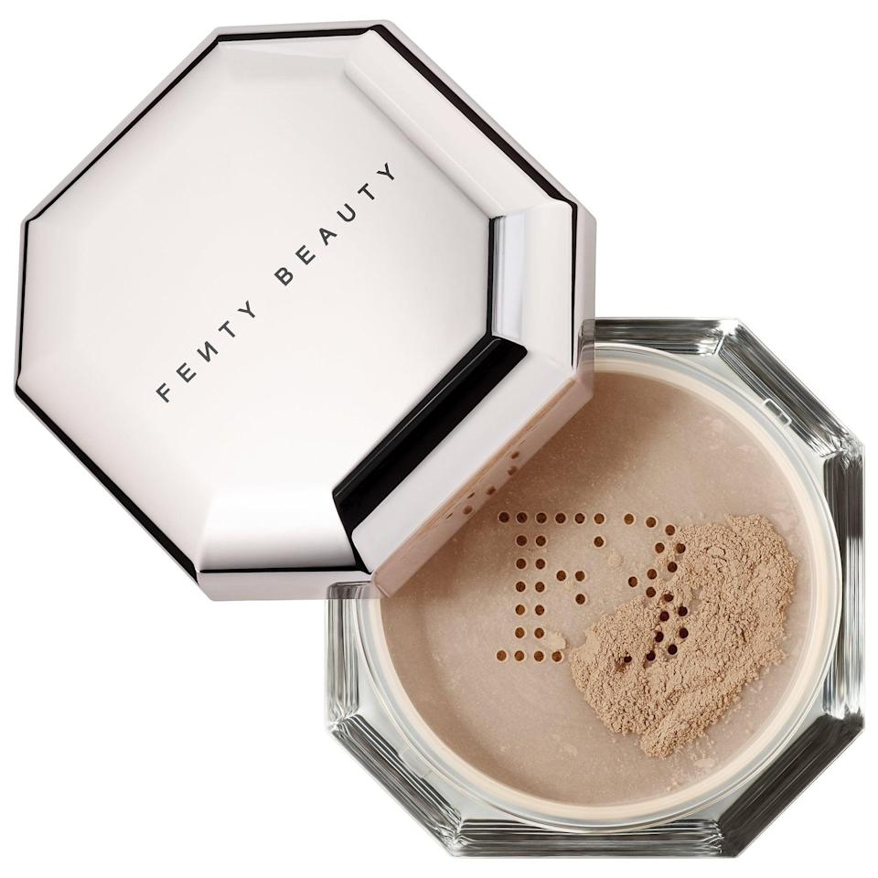 <p>Keep makeup off your mask no matter what the day throws at you with this popular <span>Fenty Beauty by Rihanna Pro Filt'r Instant Retouch Setting Powder</span> ($18-$32). Choose from eight sheer shades that won't give themselves up in a flash photo or bright sun, plus they'll reduce shine without caking into skin.</p>