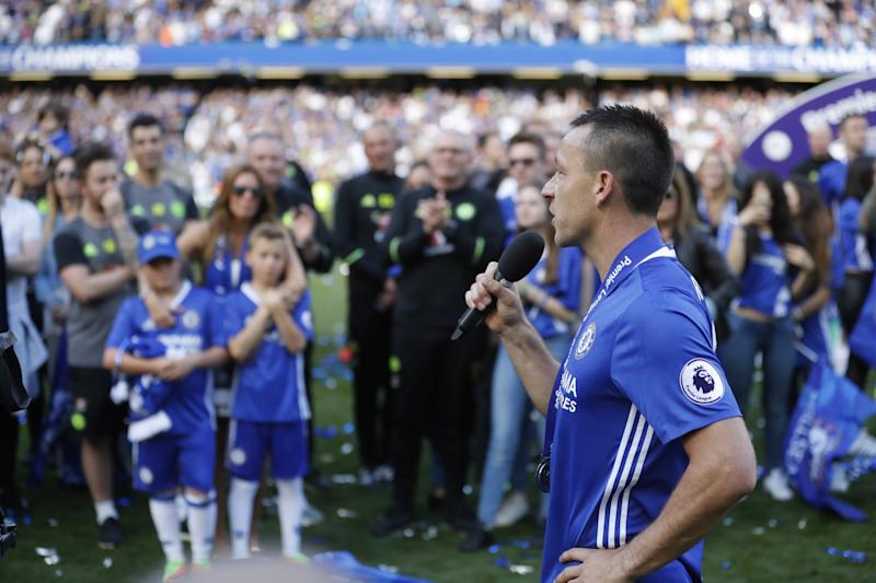 Chelsea legend John Terry is a free agent