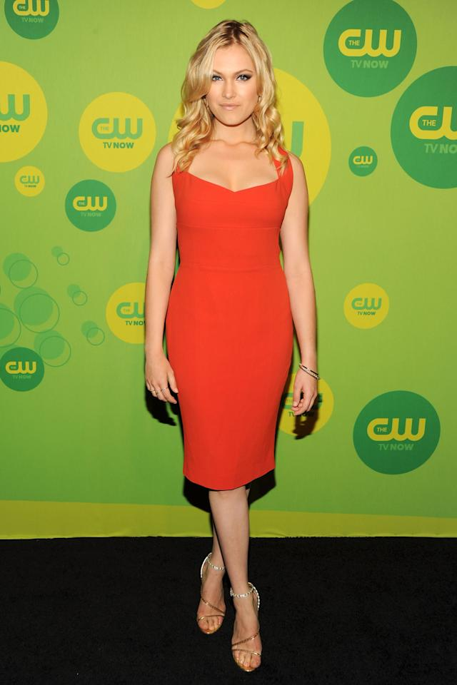 NEW YORK, NY - MAY 16:  Actress Eliza Taylor attends The CW Network's New York 2013 Upfront Presentation at The London Hotel on May 16, 2013 in New York City.  (Photo by Ben Gabbe/Getty Images)