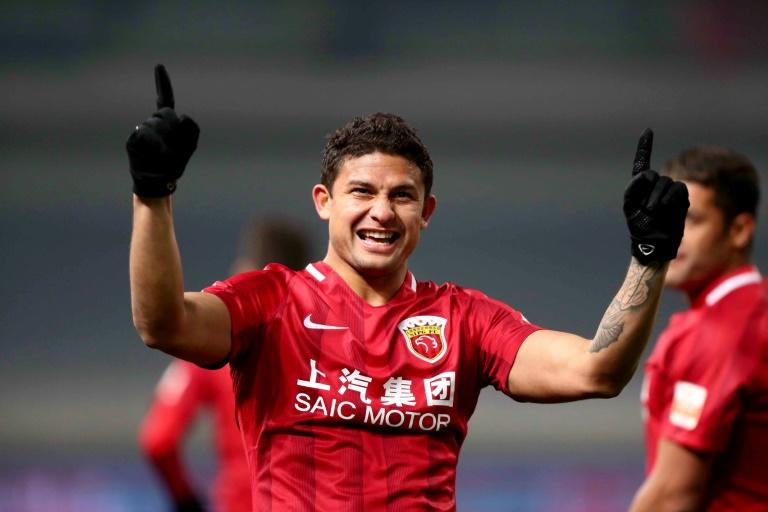 Brazilian-born forward Elkeson has been named in China's national squad