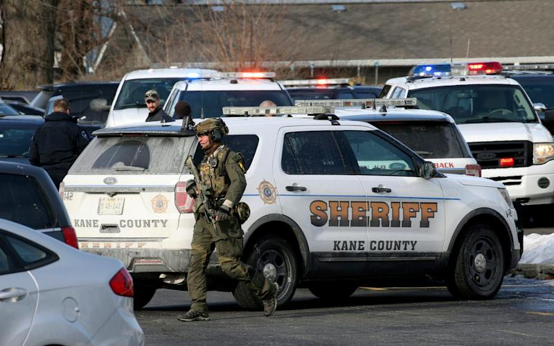 The shooter has been apprehended, police said - Chicago Tribune