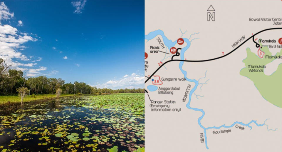 The South Alligator River in Kakadu National Park, Northern Territory.