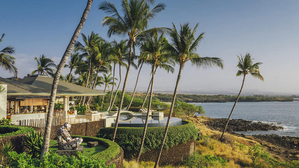 A week-long stay at Guy Laliberté's Hawaiian estate is one of the lots on offer. - Credit: One Drop Foundation