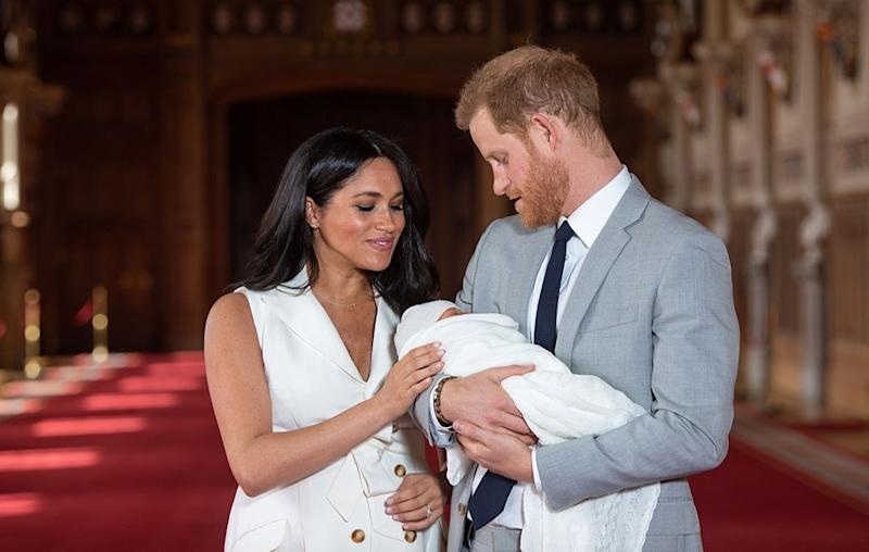 Harry Styles & Meghan Markle 'Have Their First Child' In Hilarious News Blunder