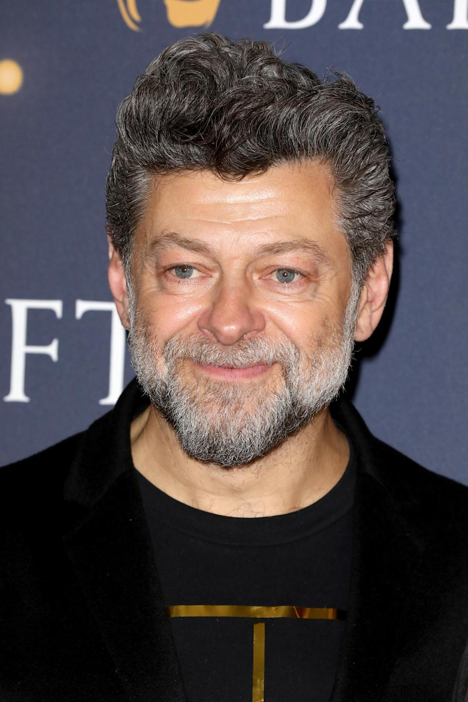 Serkis has also acted in live action roles and directed Breathe in 2017 (Getty Images)