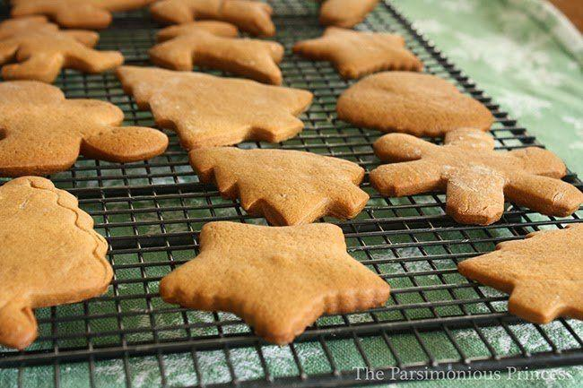 """Sure, gingersnaps are great, but these soft gingerbread cookies can't be beat. Learn how to create these at <a href=""""http://theparsimoniousprincess.blogspot.ca/2010/12/only-in-december-best-gingerbread.html"""" target=""""_blank"""">The Parsimonious Princess</a>."""