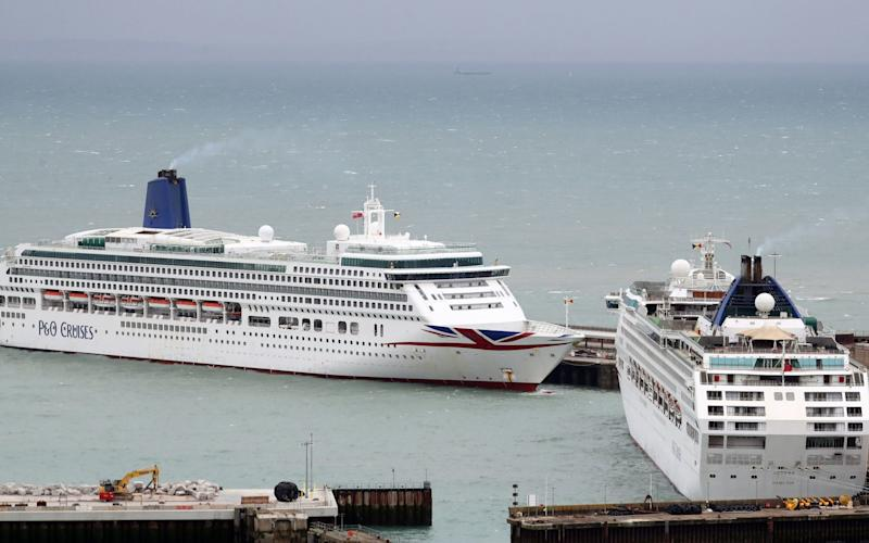 Cruise ships that are out of use could be recommissioned to process migrants - Gareth Fuller/PA Wire/Gareth Fuller/PA Wire