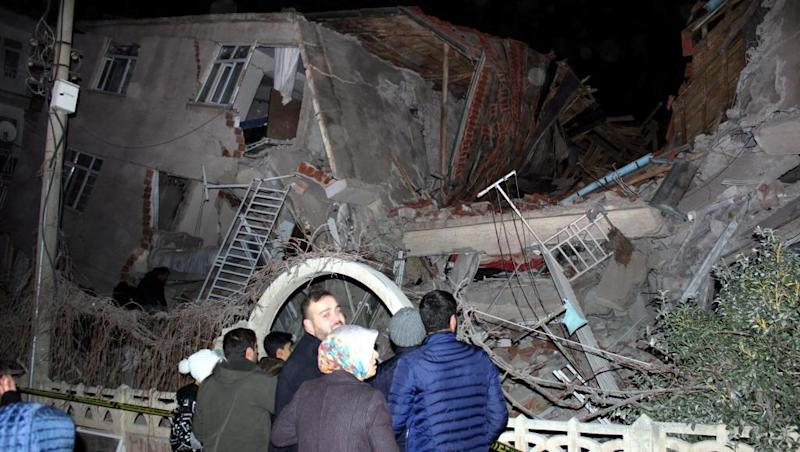 Turkey hit by a deadly earthquake as death toll rises