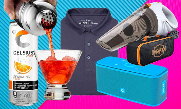 Dad-approved Father's Day gifts on Amazon. (Photo: Amazon/Getty)