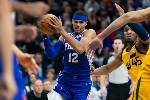 NBA: Utah Jazz at Philadelphia 76ers