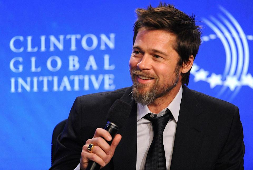 """<p>Brad Pitt joined Christopher Waltz and Eli Roth in Quentin Tarantino's <a href=""""https://www.imdb.com/title/tt0361748/?ref_=nm_flmg_act_24"""" rel=""""nofollow noopener"""" target=""""_blank"""" data-ylk=""""slk:Inglourious Basterds"""" class=""""link rapid-noclick-resp"""">Inglourious Basterds</a>, a World War II-era film about Jewish soldiers from the United States' mission to assassinate Nazi leaders.</p>"""