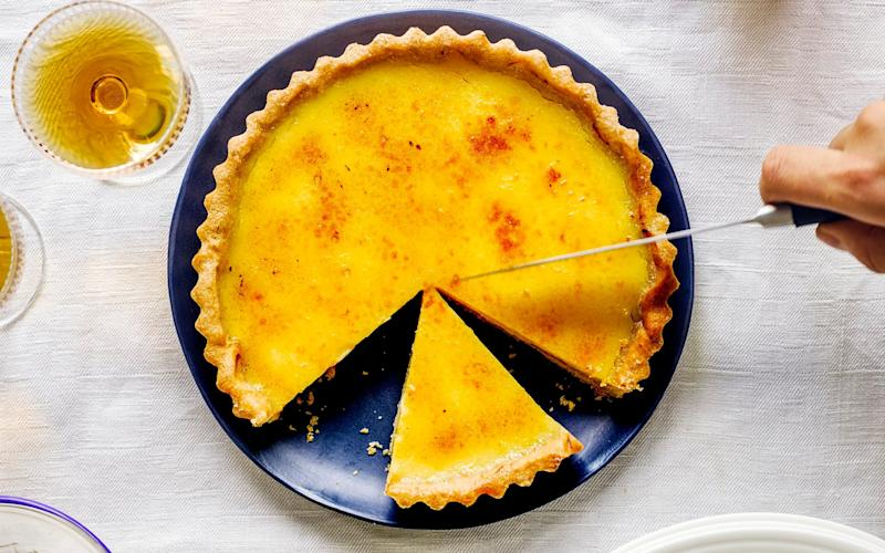 A sharp and citrussy dessert - No Unauthorized Use