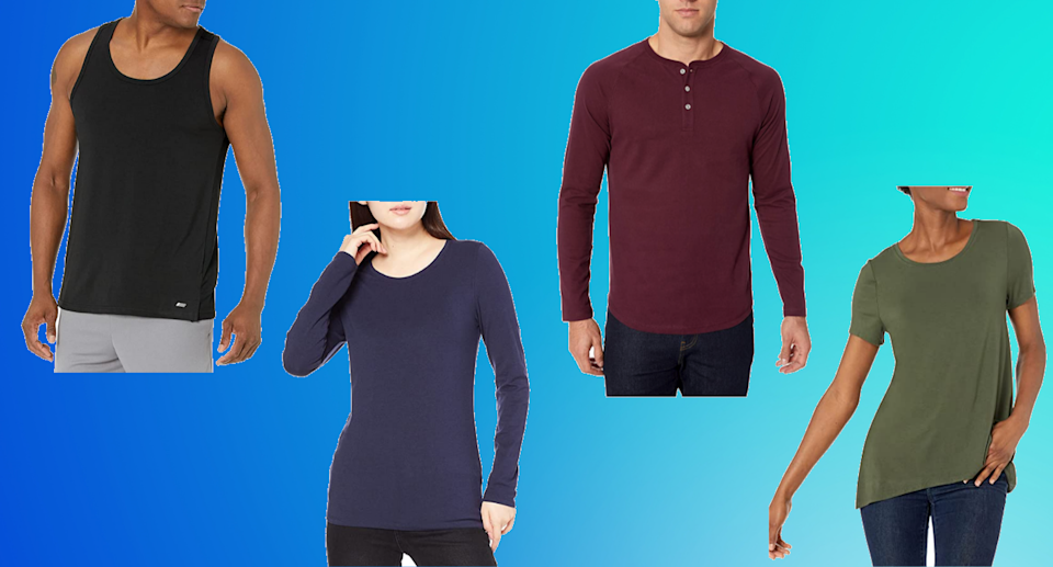 Save up to 15% on Amazon Essentials clothing for men and women - but not for long.