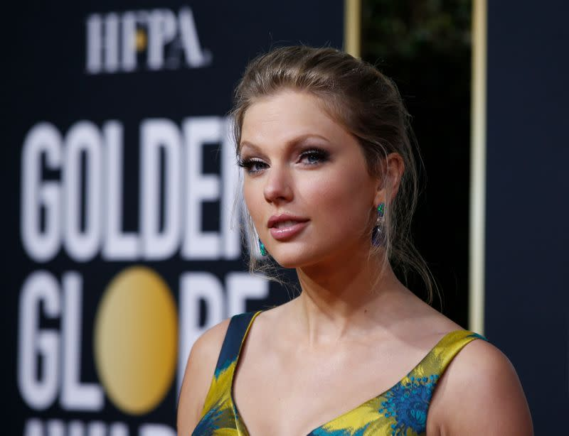 77th Golden Globe Awards - Arrivals - Beverly Hills, California, U.S., January 5, 2020 - Taylor Swift
