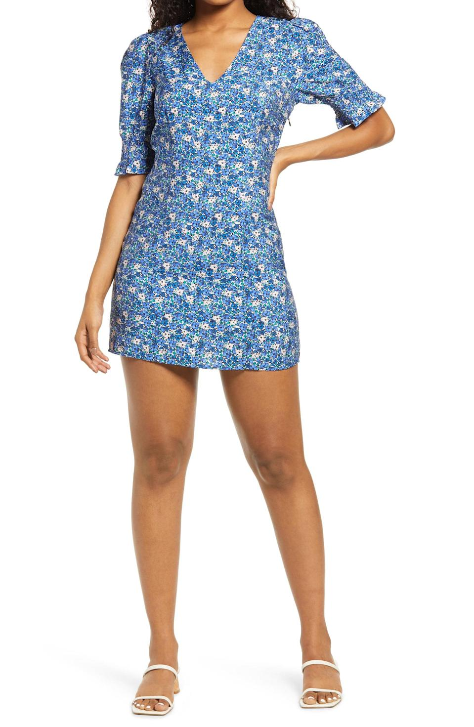 <p>This <span>Vero Moda Floral Dress</span> ($65) will look great with low-heeled sandals and a cross-body bag.</p>