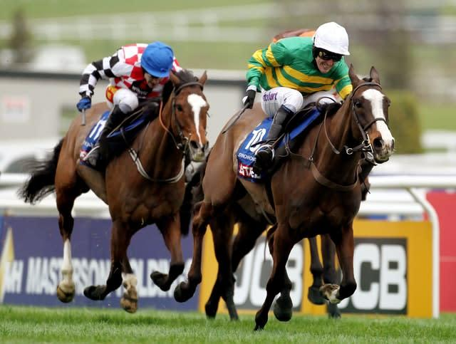 Synchronised was the second of McCoy's two Gold Cup winners (David Davies/PA)