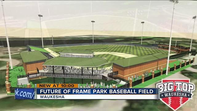 Part of a redevelopment project proposed in Waukesha is creating concern: The baseball facility at Frame Park. This is a place many have an emotional attachment to, like life-long Waukesha resident Sandy Hamm.