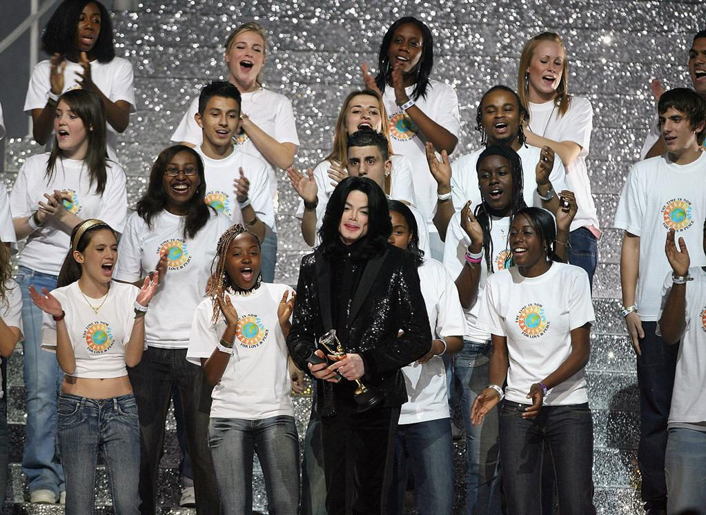 """In addition to his 13 Grammy wins, Jackson received 15 World Music Awards, more than any other male artist. Jo Hale/<a href=""""http://www.gettyimages.com/"""" target=""""new"""">GettyImages.com</a> - November 15, 2006"""