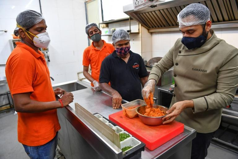 As India battled a devastating Covid-19 wave, chef Saransh Goila also launched a relief effort connecting volunteer home cooks with coronavirus patients