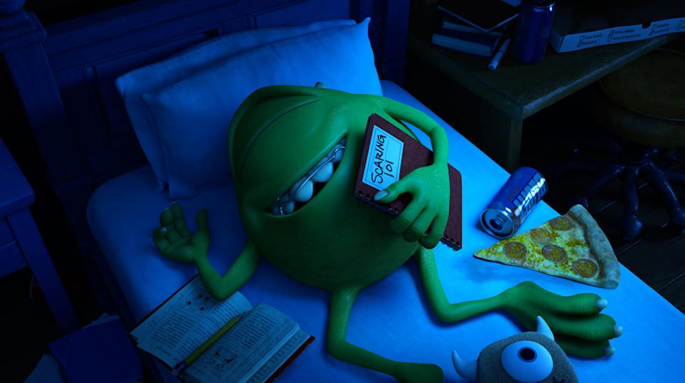 """Mike (voiced by Billy Crystal) in Pixar's """"Monsters University"""" - 2013"""