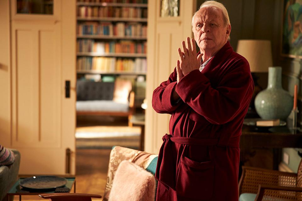 Anthony Hopkins plays a mischievous and highly independent man with dementia in Florian Zeller's acclaimed directorial debut (Lionsgate)