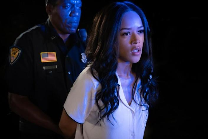 "Envy: A Seven Deadly Sins Story -- Lifetime TV Series, Serayah. Serayah in ""Envy: A Seven Deadly Sins Story"" on Lifetime."