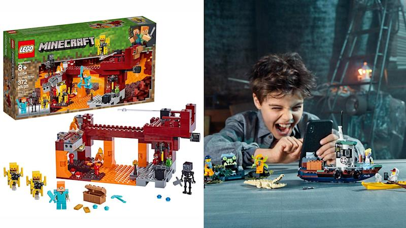 At their best prices, these Lego kits are perfect to start your holiday shopping.