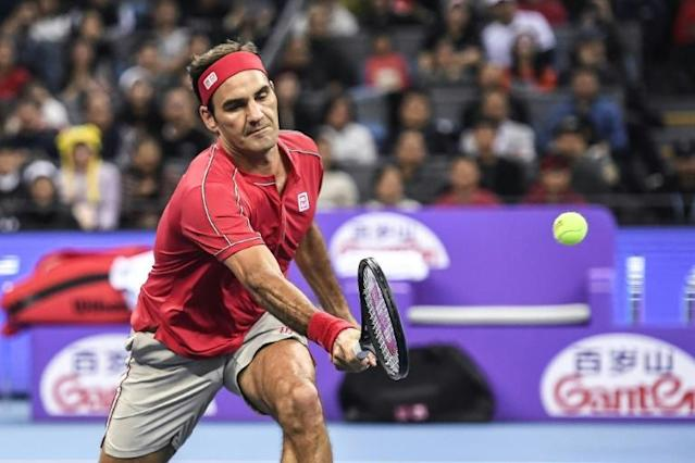 Even at 38, Roger Federer still has the tools to win the title (AFP Photo/STR)
