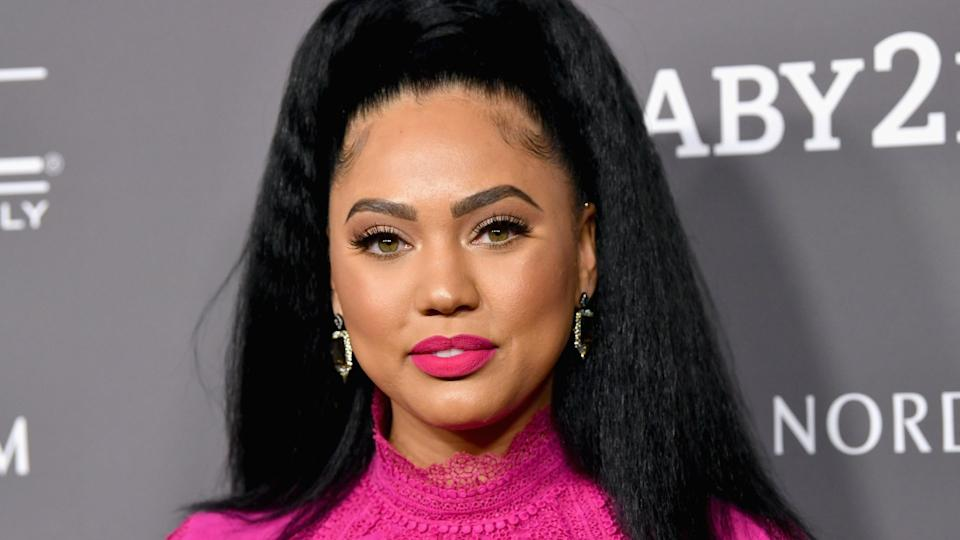 Ayesha Curry hit back after receiving criticism for sharing a nude photo to Instagram. (Image via Getty Images)