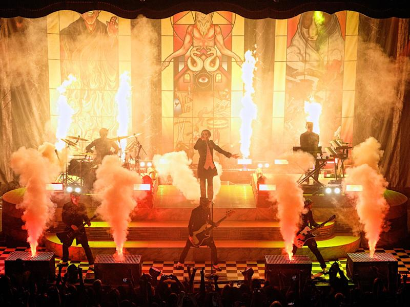 Ghost performing at the O2 Forum, London on 26th March, 2017: Paul Harries