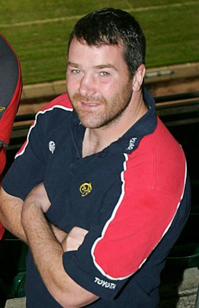 Anthony Foley, then Munster's captain, pictured in Carddiff, Wales, in 2006