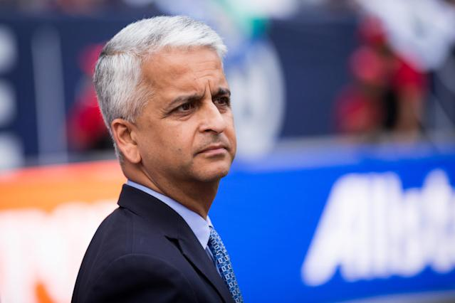 Sunil Gulati spoke with reporters on a conference call Friday morning. (Getty)