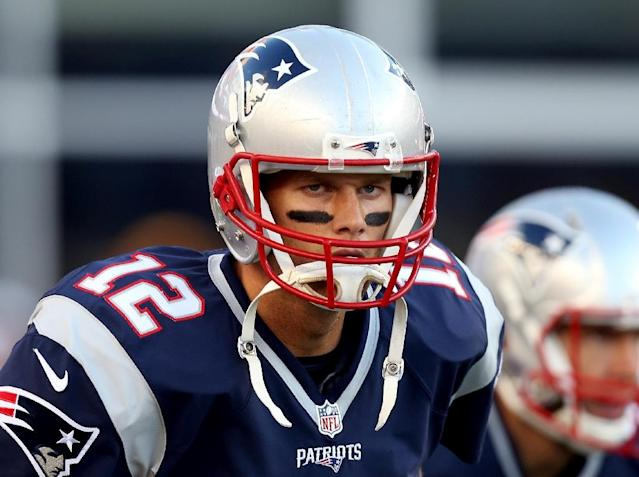 """""""I don't want to get into things that happened in my past, certainly medical history and so forth. I really don't think that's anybody's business,"""" New England Patriots quarterback Tom Brady said (AFP Photo/Mike Lawrie)"""