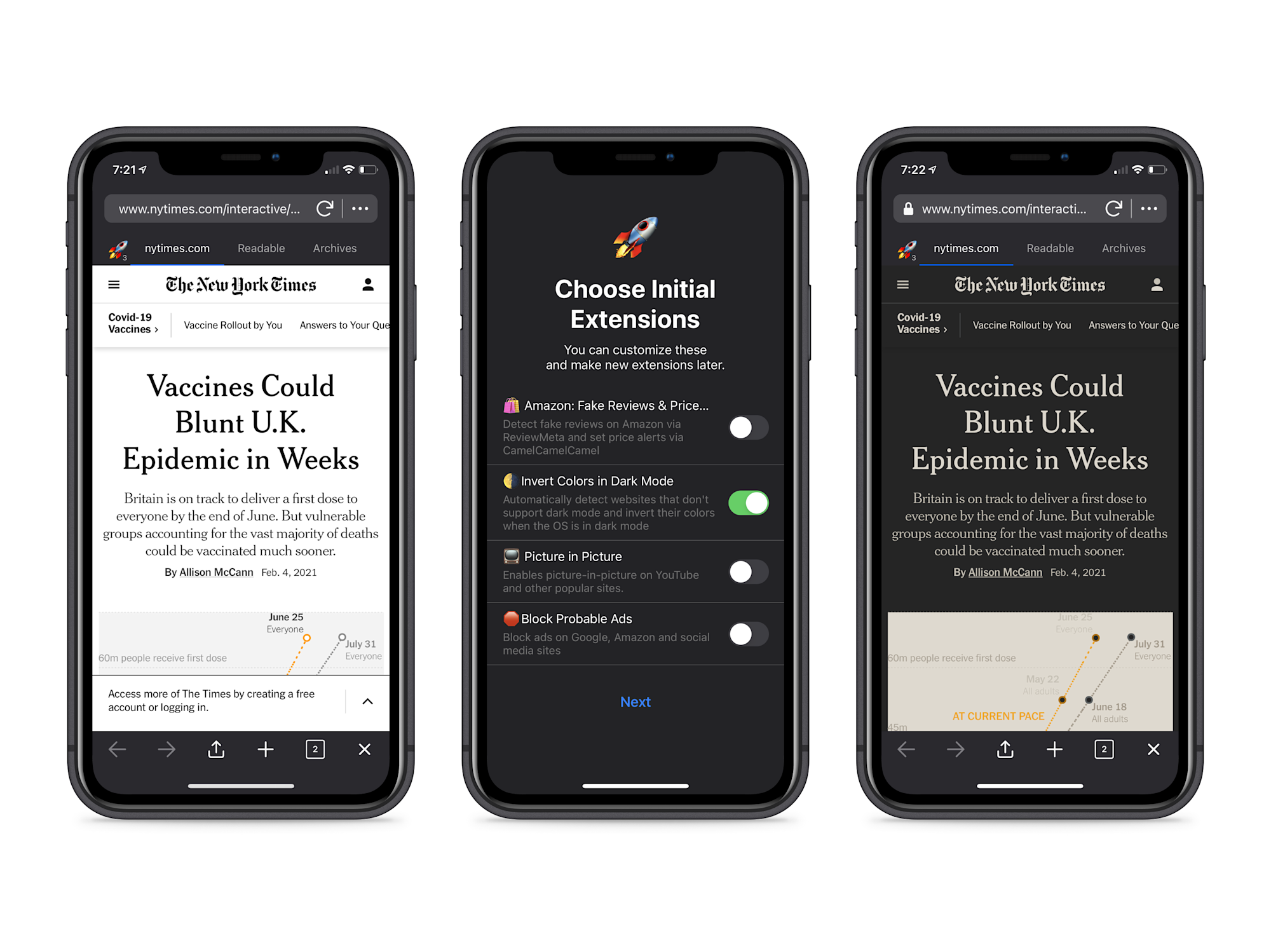 Insight launches a customizable iOS browser with support for extensions