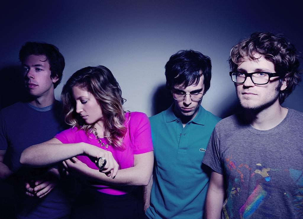 Members of Ra Ra Riot (courtesy of Barsuk Records)
