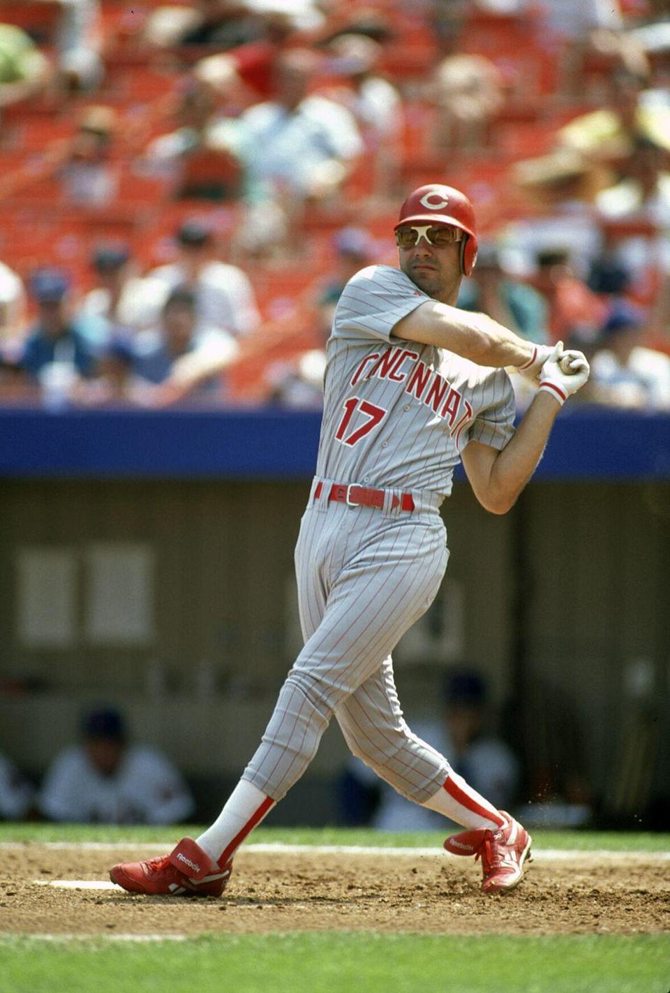 """<p>The former MLB player spent some time working for the golden arches before getting pulled up to the big leagues. While he was still playing in the minor leagues, he worked part-time at McDonalds to support himself, according to the <a href=""""https://www.cedwardsgroup.com/team/famous-employees.html"""" rel=""""nofollow noopener"""" target=""""_blank"""" data-ylk=""""slk:Chuck Edwards Group"""" class=""""link rapid-noclick-resp"""">Chuck Edwards Group</a>.</p>"""